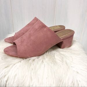 ASOS Truffle Collection Blush Pink Mules